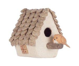 Kinderkamer Behang Vogelhuisjes : Merel vogelhuisje vilten decoratie van kidsdepot klein en stoer