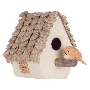 KidsDepot Merel vogelhuisje , vilten decoratie