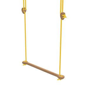 Lillagunga Houten trapeze geel touw
