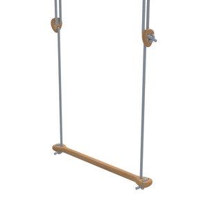 Lillagunga Houten trapeze grijs touw