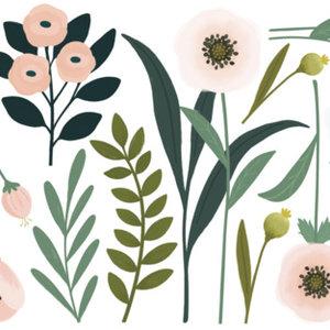 Lilipinso muursticker bloemen XL