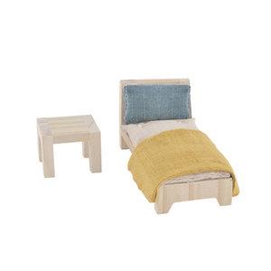 Olli Ella Holdie house eenpersoonsbed set