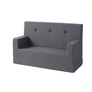 by Klip Klap Kids sofa blauw grijs
