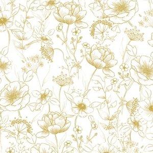 Lilipinso Bloemen behang