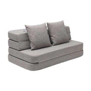 by Klip Klap 3 fold sofa lichtgrijs