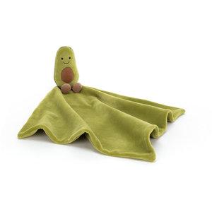 Jellycat Knuffeldoekje avocado