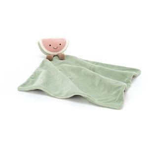 Jellycat Knuffeldoekje watermeloen