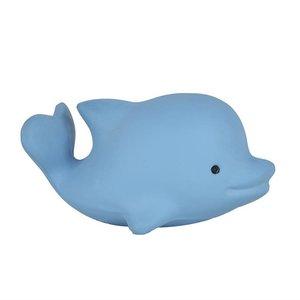 Tikiri Dolfijn bad/bijtspeeltje met rammelaar