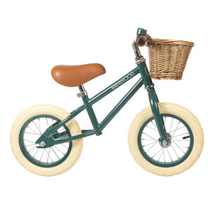 Banwood Loopfiets First go groen