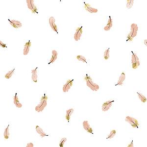 Lilipinso Veertjes behang