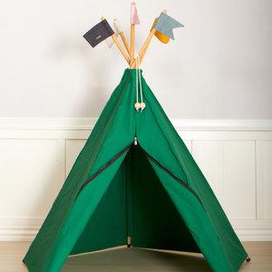 Roommate Hippie tipi tent donkergroen