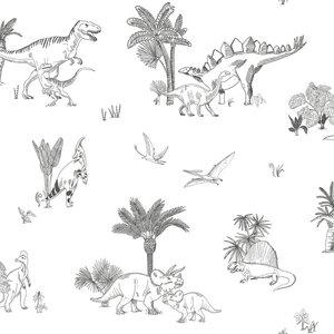 Lilipinso Dinosauria behang