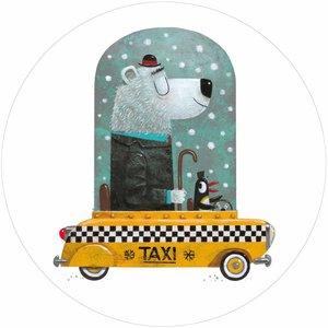 Kek Amsterdam Behangcirkel Bear Cab