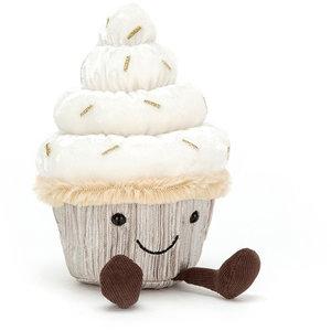 Jellycat Knuffel cupcake