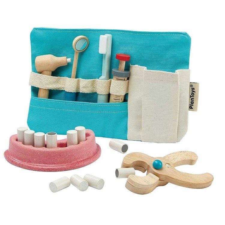 houten tandartsset om mee te spelen