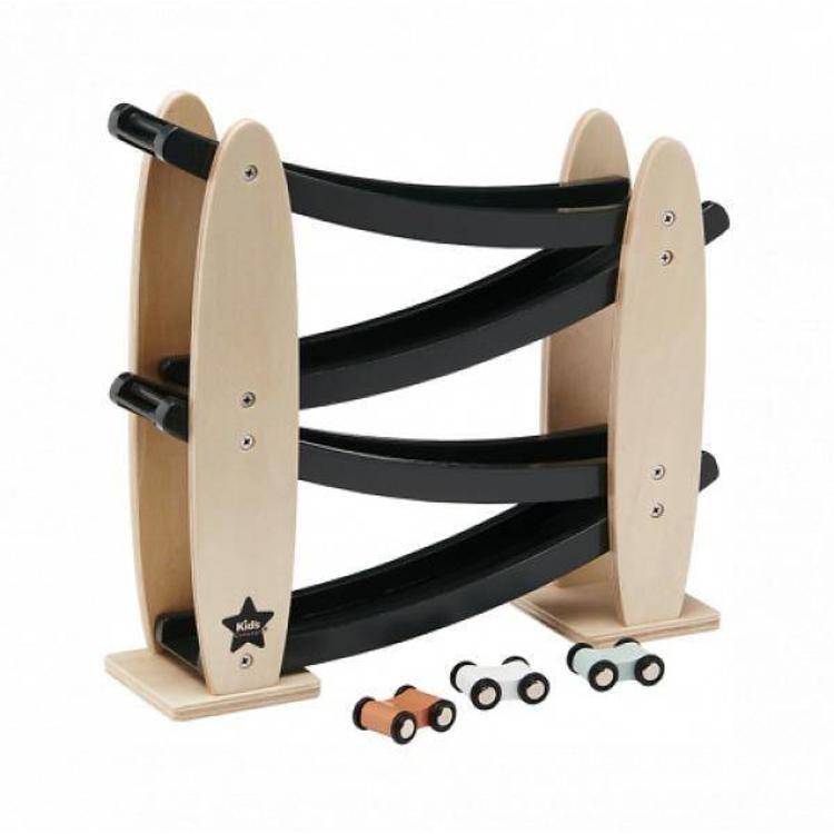 houten racebaan van kidsconcept