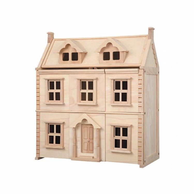 houten poppenhuis van Plantoys