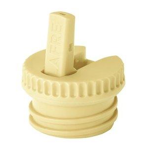 Blafre Dop met tuit licht geel