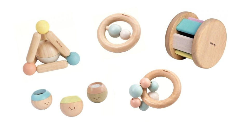 houten babyspeelgoed van plantoys, van kleinenstoer.nl
