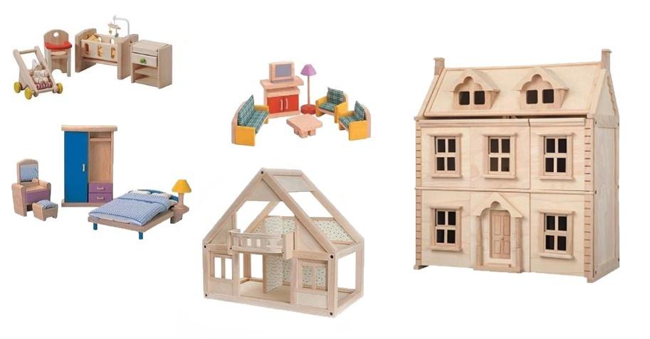 poppenhuis voor in de kinderkamer