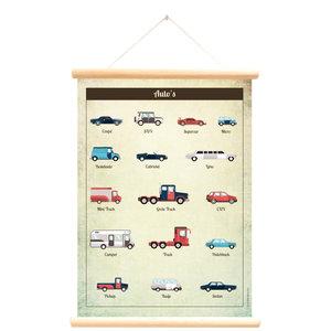 Little and Pure Schoolplaat auto's