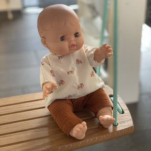 Minikane & Paola Reina Olifanten shirt met broek voor poppen