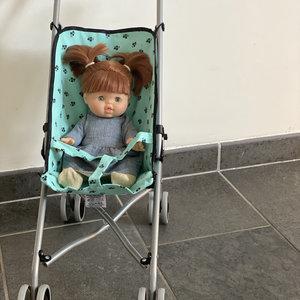 Minikane & Paola Reina Buggy voor poppen in het mint