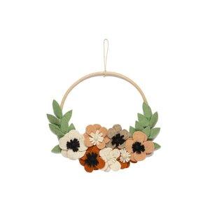 KidsDepot Krans flower hoop bloemen