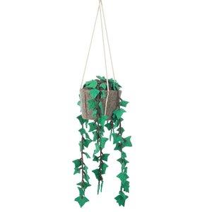KidsDepot Hedera , hangende vilten decoratie plant