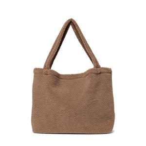 Studio Noos Brown chunky teddy bag