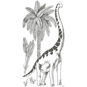 Lilipinso Brontosaurus muursticker XL