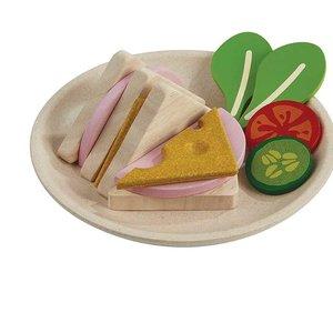 PlanToys Houten sandwich