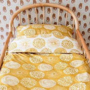 Witlof for kids Tuck-Inn dekbedovertrek (100x135cm) Sparkle sweet honey ledikant