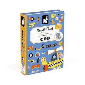 Janod Magneetboek racers