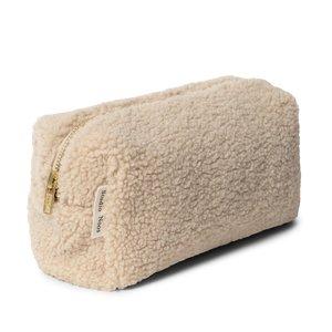 Studio Noos pouch chunky teddy ecru