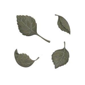 Stick Stay Groene bladeren muursticker (herbruikbaar)
