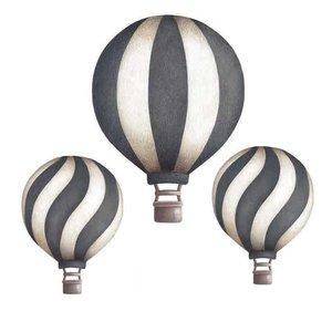 Stick Stay Luchtballonnen muurstickers donkerblauw (herbruikbaar)