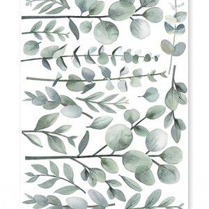 Lilipinso muursticker bladeren