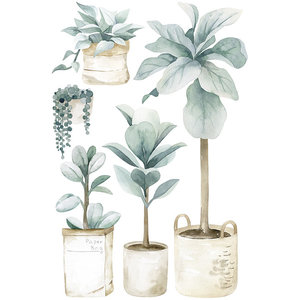 Lilipinso muursticker planten