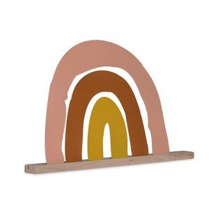 Atelier Pierre  Magneetbord regenboog met eiken houder