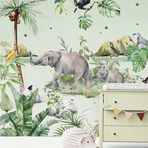 Creative lab amsterdam Anouk hoogendijk Behang Mural