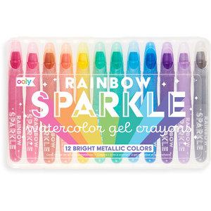 Ooly Regenboog glitter gelkrijtjes