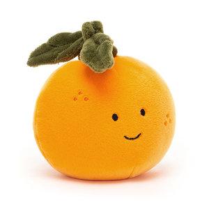 Jellycat Knuffel sinaasappel