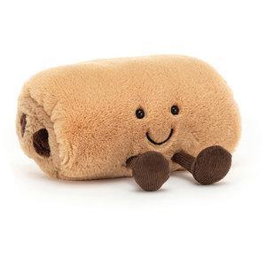Jellycat Knuffel chocolade broodje