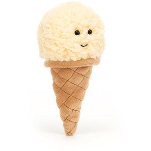 Jellycat Ijsjes knuffel vanilla