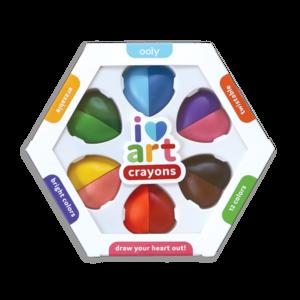 Ooly Waskrijt i heart art crayons