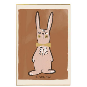 Studio Loco Poster Rabbit i see you