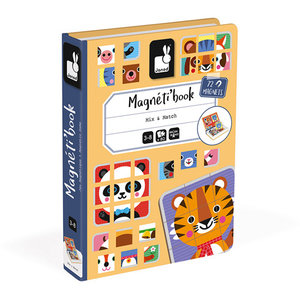Janod Magneetboek mix and match