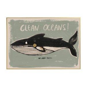 Studio Loco Poster clean oceans