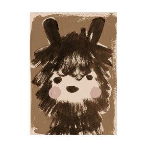 Studio Loco Poster alpaca